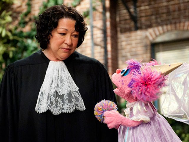 sonia sotomayor coloring page - supreme court justice sonia sotomayor and sesame street
