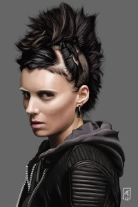the_girl_with_the_dragon_tattoo_portrait_by_aedrian-d4pu35z