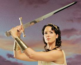 Meet Angela Shelton - Actress, Writer, Comedian, Warrior Goddess...