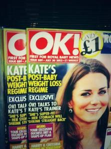 Kate is more powerful than all y'all. Leave her body be!