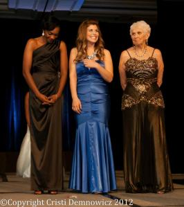 The pageant celebrated diversity in all forms. The top three contestants were an African American woman, an Iraqi War veteran, and the oldest contestant at 89 who served during WWII.