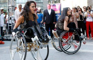 """Push Girls"" stars, Auti Angel and Mia Schaikewitz continue their passion for dance even in their wheelchairs."