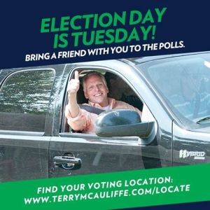 Not everyone has a car to get them to their voting location, invite friends!