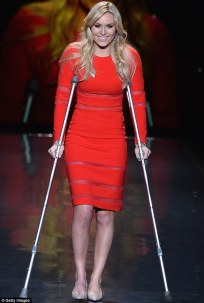 If only I looked this happy to be on crutches....