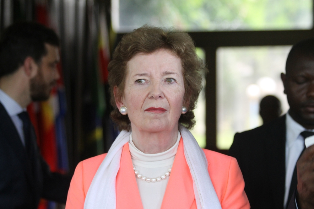 DRC: VISIT OF MARY ROBINSON