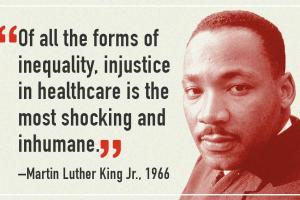 MLK health inequalites