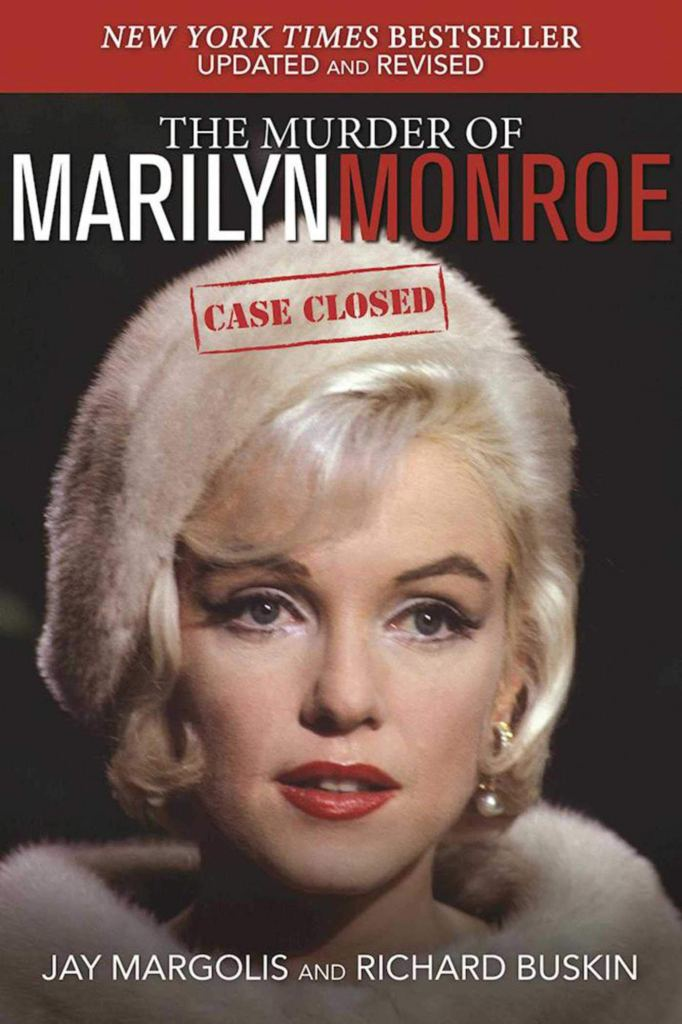 """Book cover """"The Murder of Marilyn Monroe"""""""